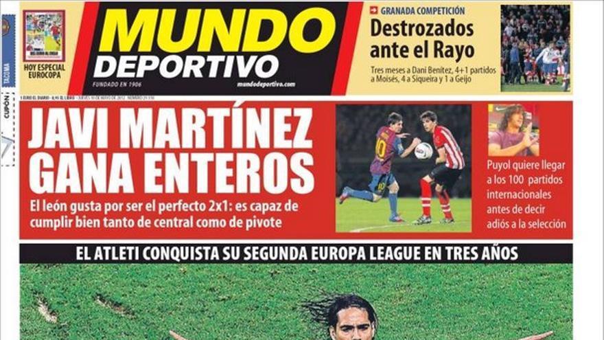De las portadas del día (10/05/2012) #14