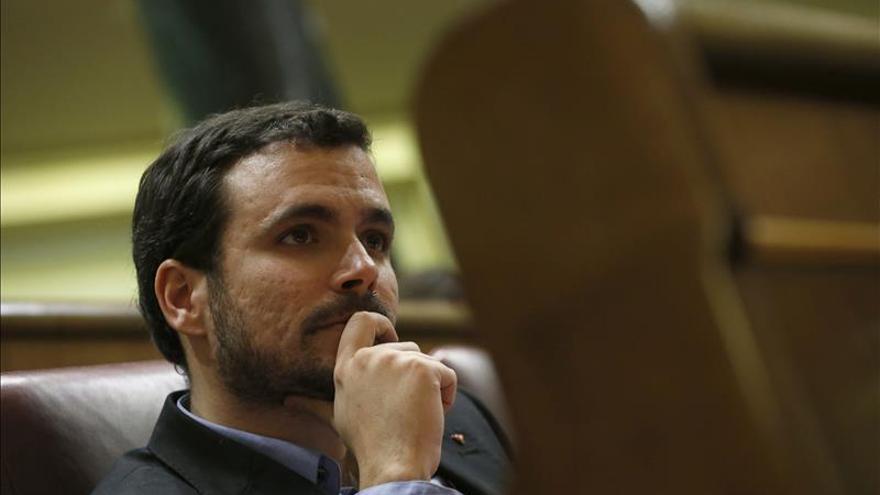 Garzón respalda la candidatura de García Montero a la Comunidad de Madrid