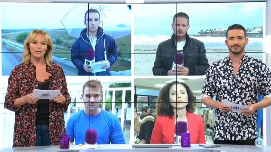 À Punt Directe ofreció una programación especial centrada en la información sobre el temporal