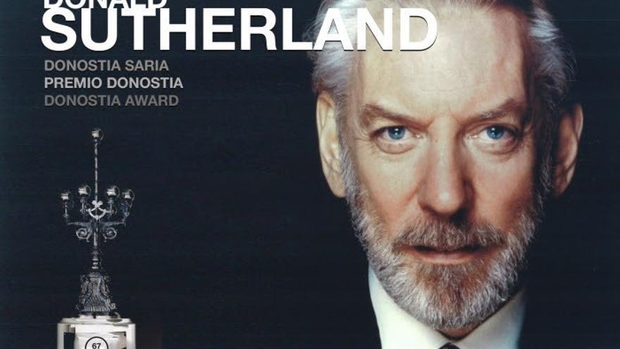 """Donald Sutherland recibirá el 26 de septiembre un Premio Donostia por su """"excelencia"""" interpretativa"""