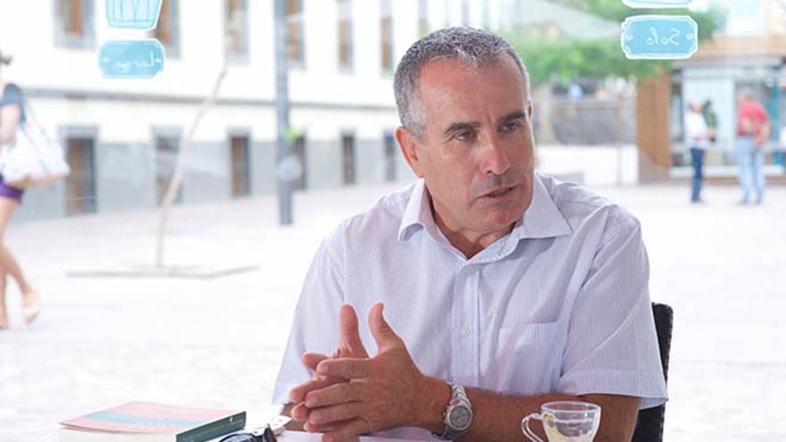 Mario Cabrera, diputado en el Parlamento de Canarias por Coalición Canaria
