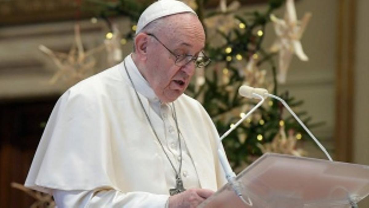 El Papa Francisco recibió la vacuna contra el Covid-19.