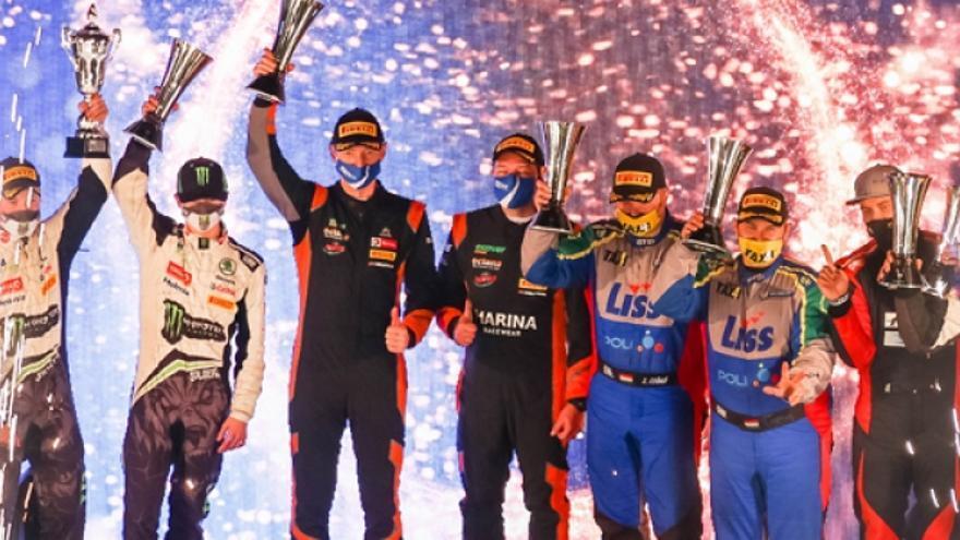 Adrien Fourmaux y Renaud Jamoul ganan el Rally Islas Canarias