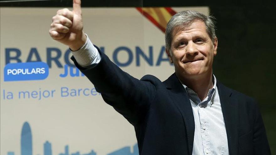 """Fernández Díaz asegura que su proyecto para Barcelona """"va más allá de las siglas del PP"""""""