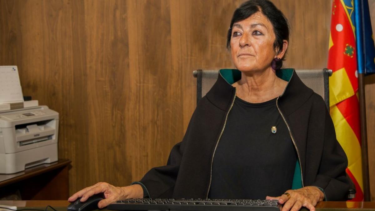 Rosa Vila (Compromís), alcaldesa de Teulada.