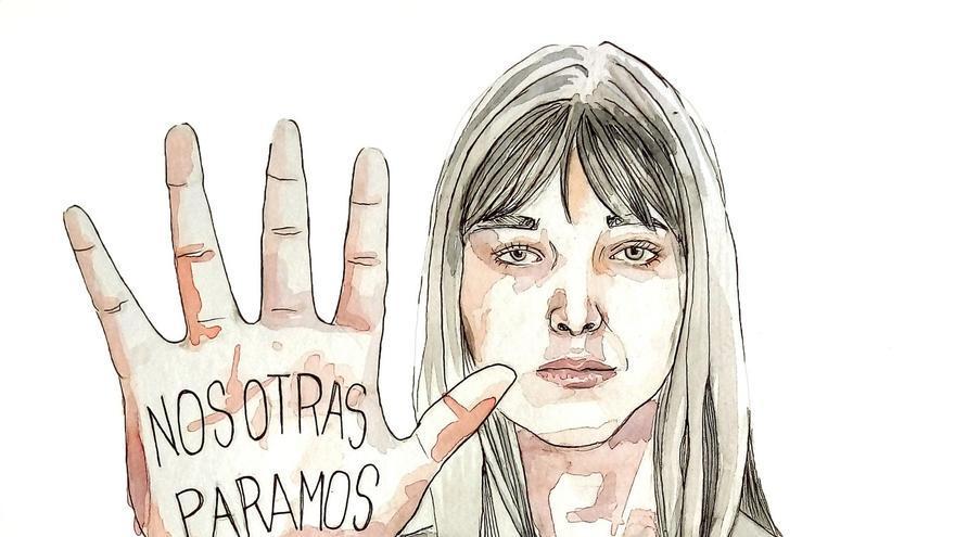 Ilustración de Artivismo Feminista/ por @amaliat_art