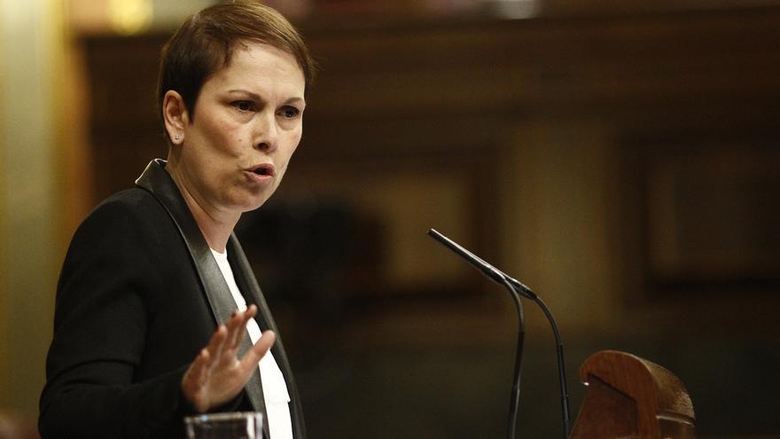 Barkos, durante una intervención anterior en el Congreso / Foto: Efe.