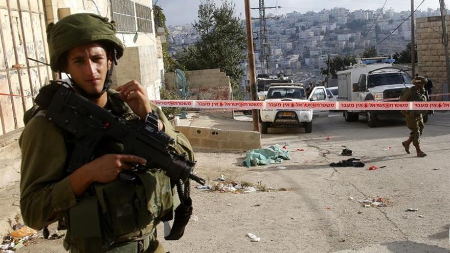 Un militar israelí y su supuesto agresor palestino, heridos en Cisjordania
