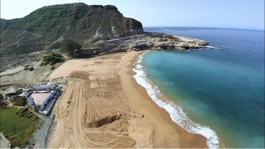 Playa de Anfi Tauro (Canarias Ahora)