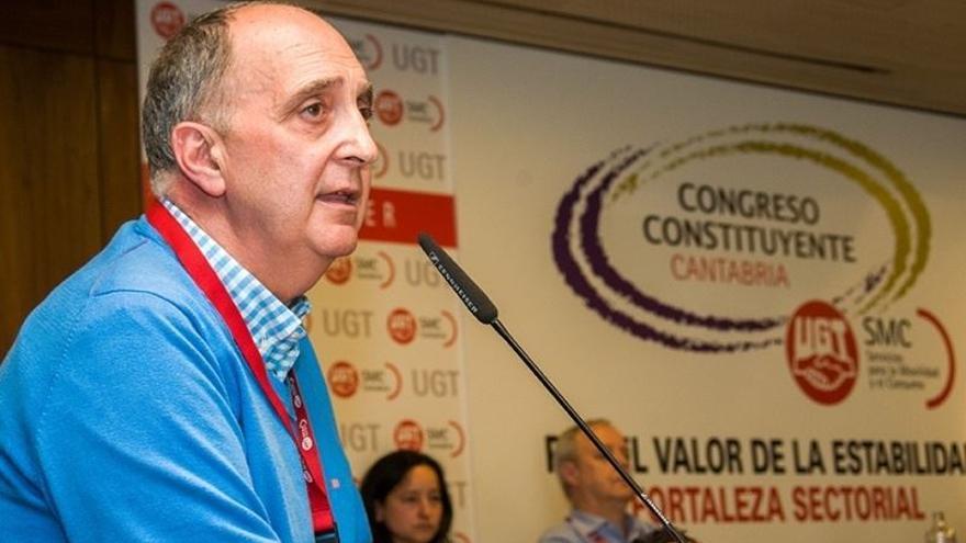 Ruiz Cardín, en el congreso extraordinario del sindicato.