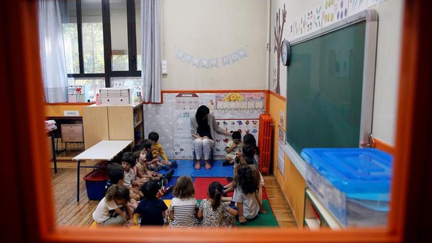 El Congreso pide al Gobierno que la educación de 0 a 3 años sea gratis
