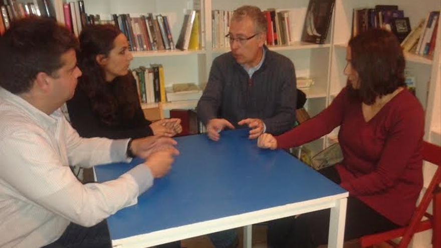 Candidatos ciudadanos de la Asamblea de Podemos / Foto: Alicia Avilés