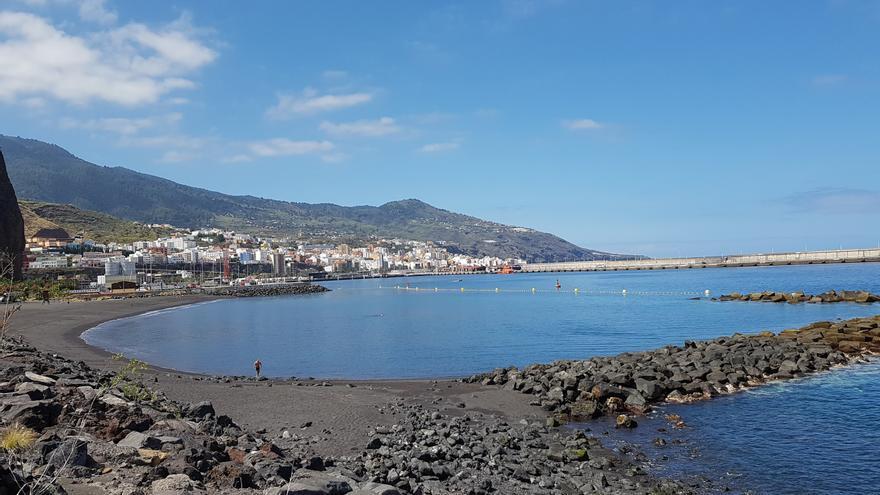 En la imagen, la playa de Bajamar, en Breña Alta. Foto: LUZ RODRÍGUEZ