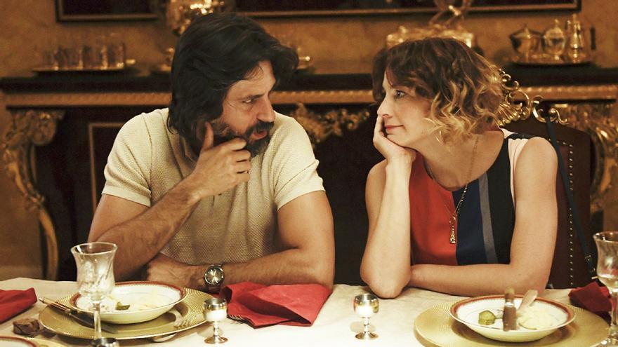 Hugo Silva y Leonor Watling en 'Nasdrovia'
