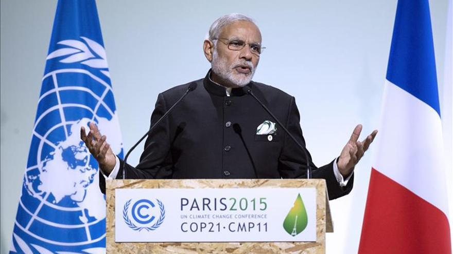 Modi dice que los países desarrollados deben afrontar sus responsabilidades