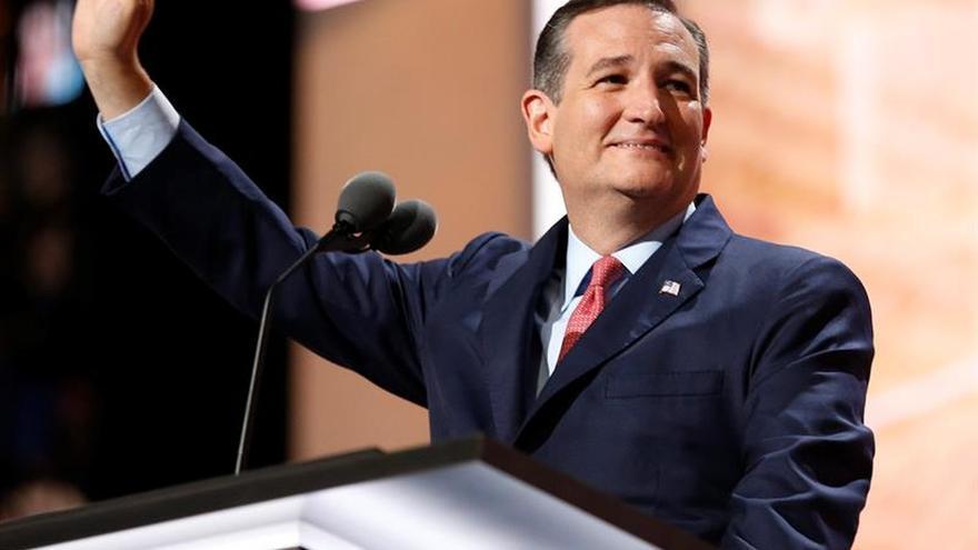 Ted Cruz no apoya a Trump y sale abucheado en la convención republicana