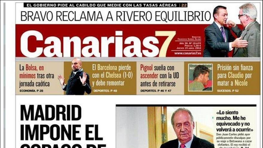 De las portadas del día (19/04/2012) #2