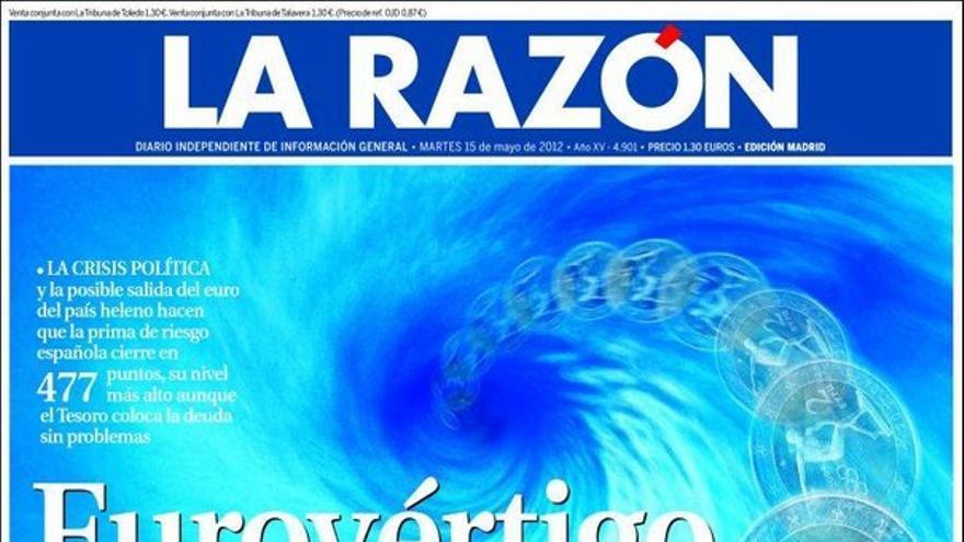 De las portadas del día (15/05/2012) #9