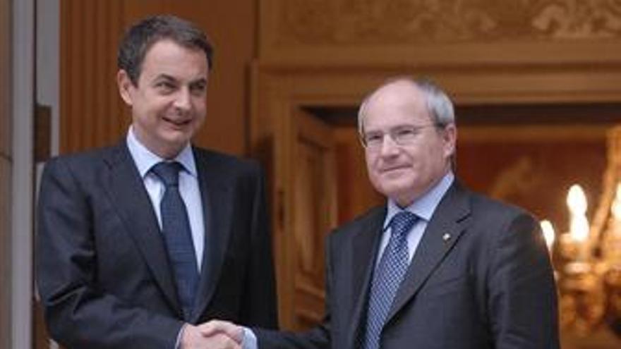 Zapatero y Montilla se reunirán para analizar la sentencia del Constitucional