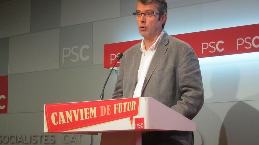 """El PSC alerta de que la consulta se encamina hacia la """"unilateralidad"""""""
