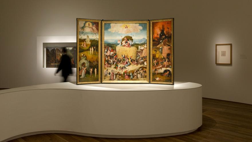 El Carro del Heno en el Museo del Prado