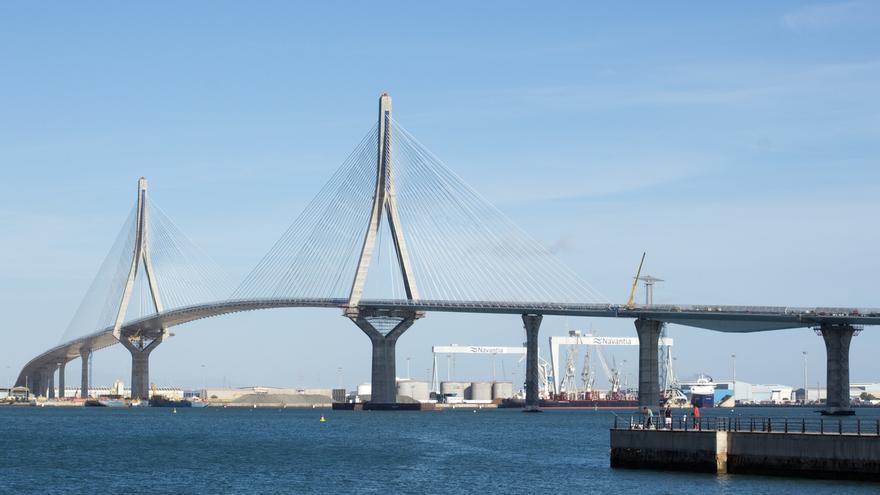 Rajoy y Díaz presiden este jueves la inauguración del segundo puente de la bahía de Cádiz