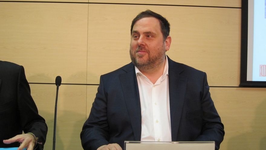 Junqueras dice que el Gobierno condiciona el FLA por inquietud ante el resultado del CEO