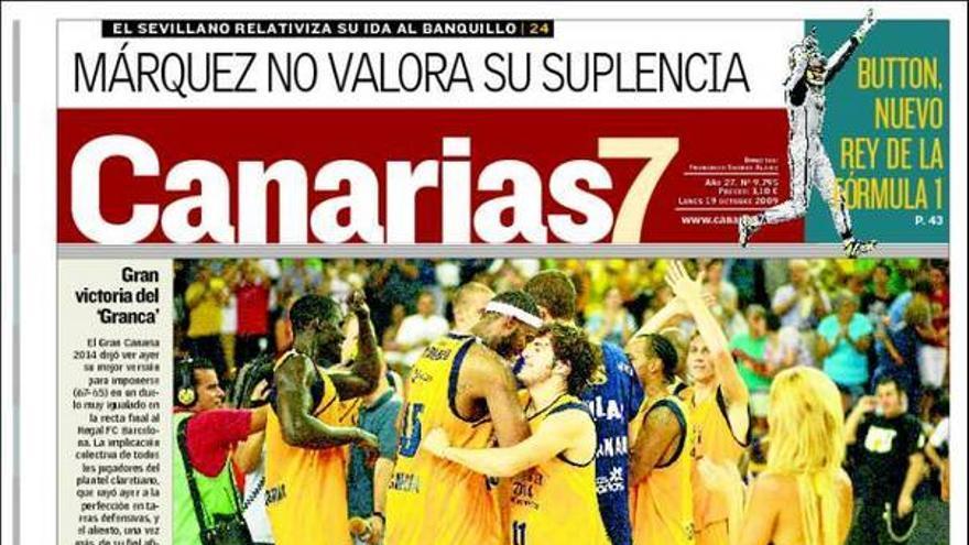 De las portadas del día (19/10/2009) #2