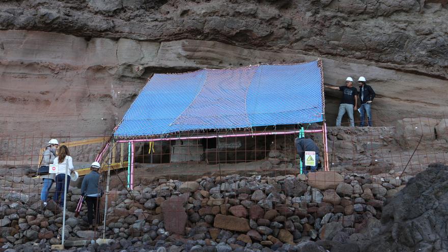Yacimiento Arqueológico de Sardina (ALEJANDRO RAMOS)