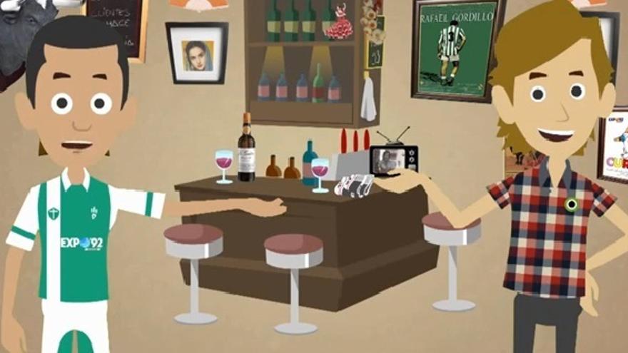 Imagen del vídeo 'Dos Sures', que tira de tópicos y burlas hacia los andaluces / Youtube