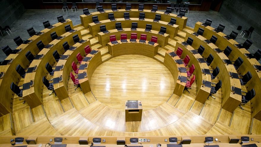 El Parlamento foral debatirá los Presupuestos para 2017 en el pleno del 22 de diciembre