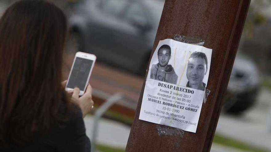 El cadáver hallado en A Coruña portaba documentación del joven desaparecido