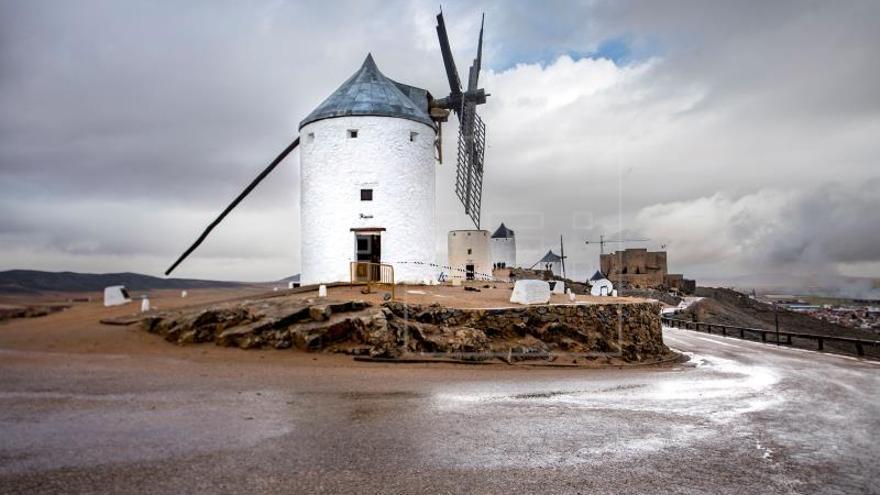 Consuegra pide la declaración de zona catastrófica por los daños en molinos