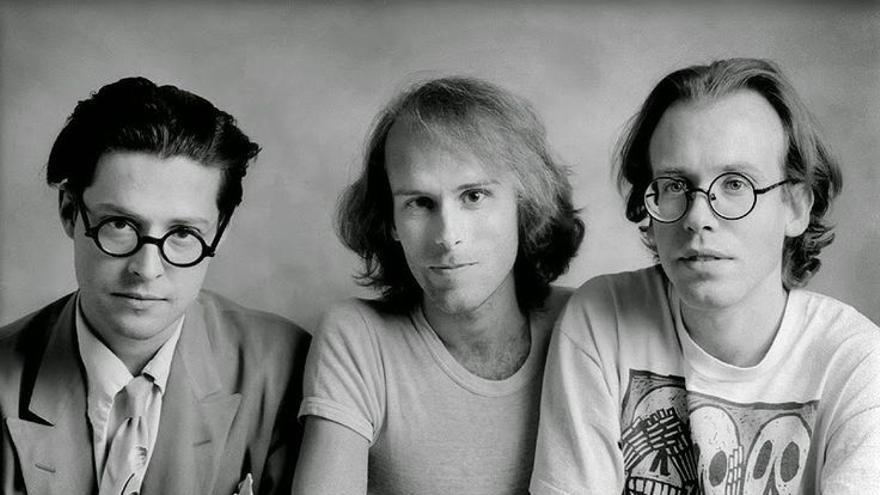 Seth, Brown y Matt en 1992. Foto de Rick McGinnis.
