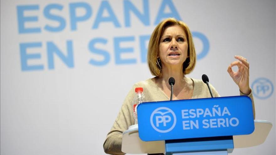 Cospedal debuta en el Congreso medio año después de las elecciones regionales