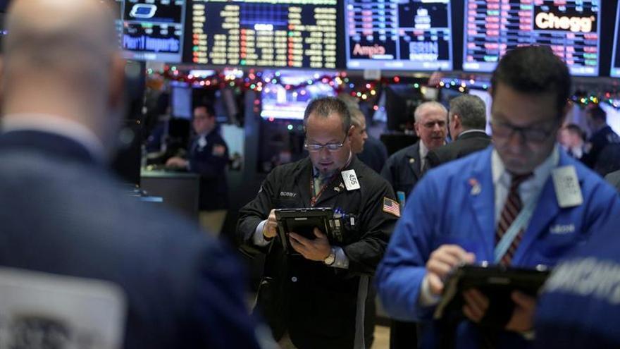 Wall Street abre mixto y el Dow Jones sube un 0,04 %