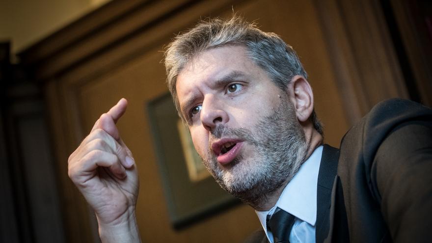 Andreu Van den Eynde, advocat d' Oriol Junqueras