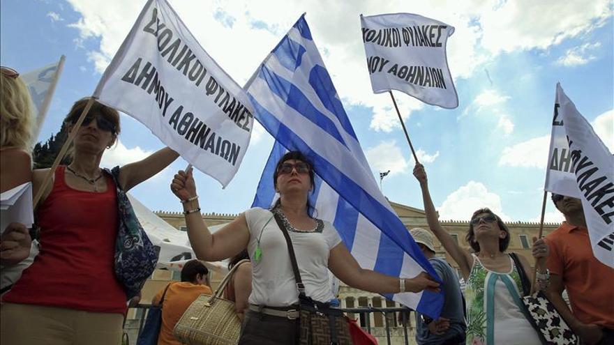 Arranca en Grecia una semana de huelgas contra la eliminación de empleo público