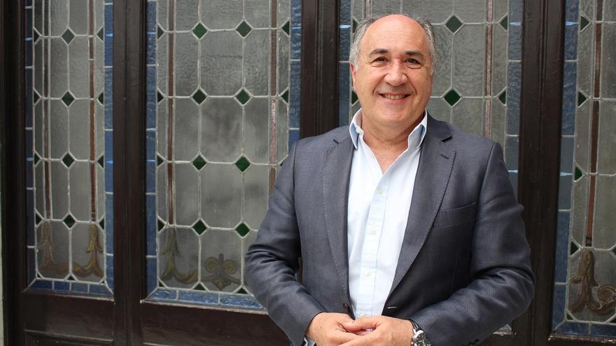 José Ignacio Landaluce, alcalde de Algeciras.