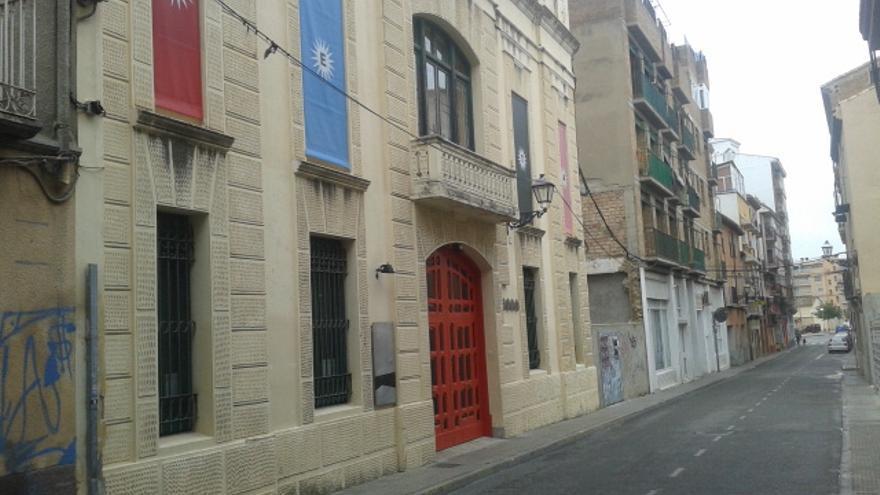 La futura Casa de la Juventud.
