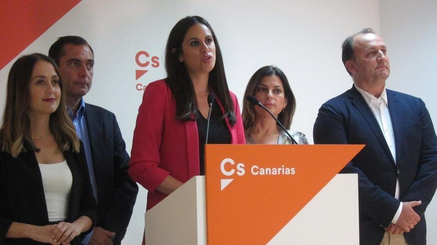Vidina Espino valora los datos del 26M en Canarias