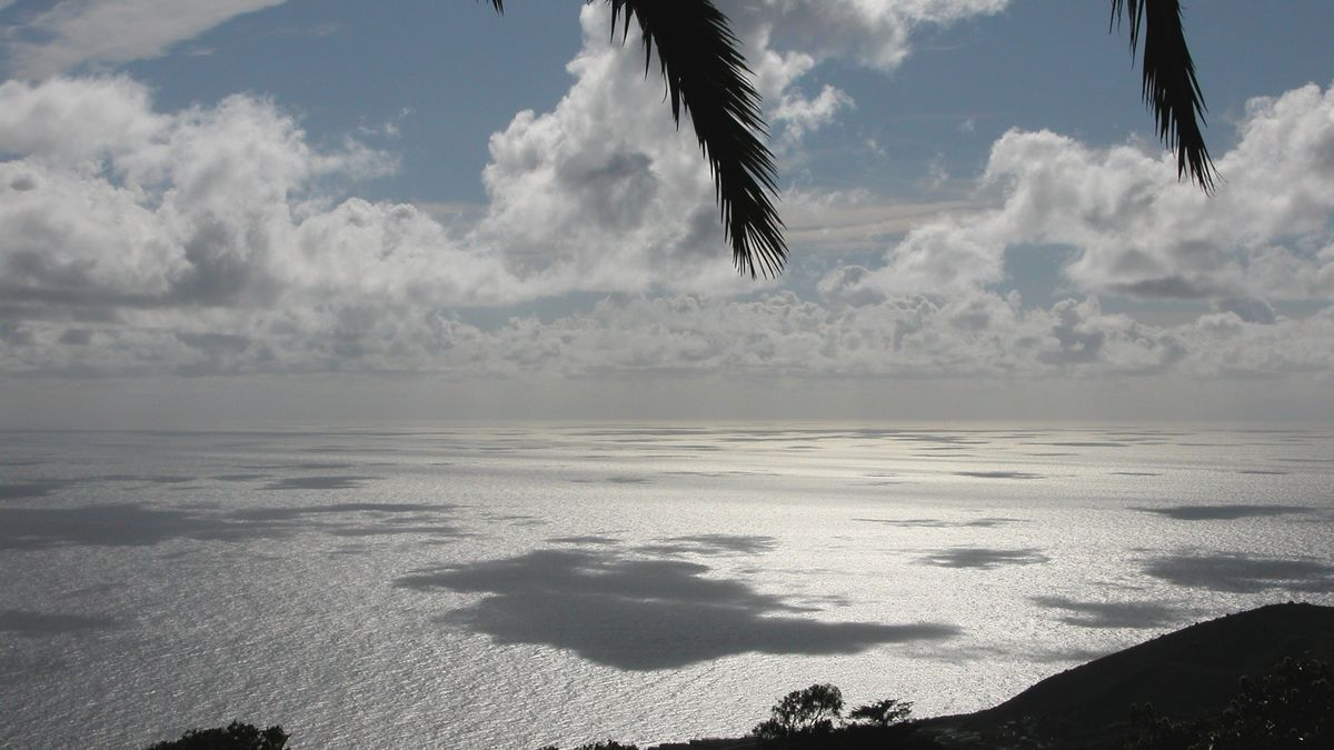 Probables lluvias débiles en Canarias