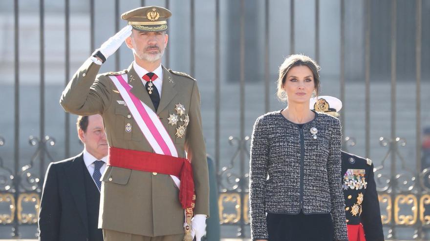 Los reyes presiden en el Palacio Real de Madrid la celebración de la Pascua Militar