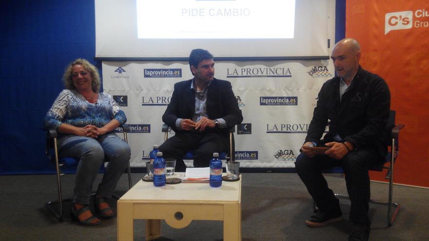 Los candidatos señalan que Ciudadanos es un partido nuevo, compuesto por personas que han vivido alejadas de la política