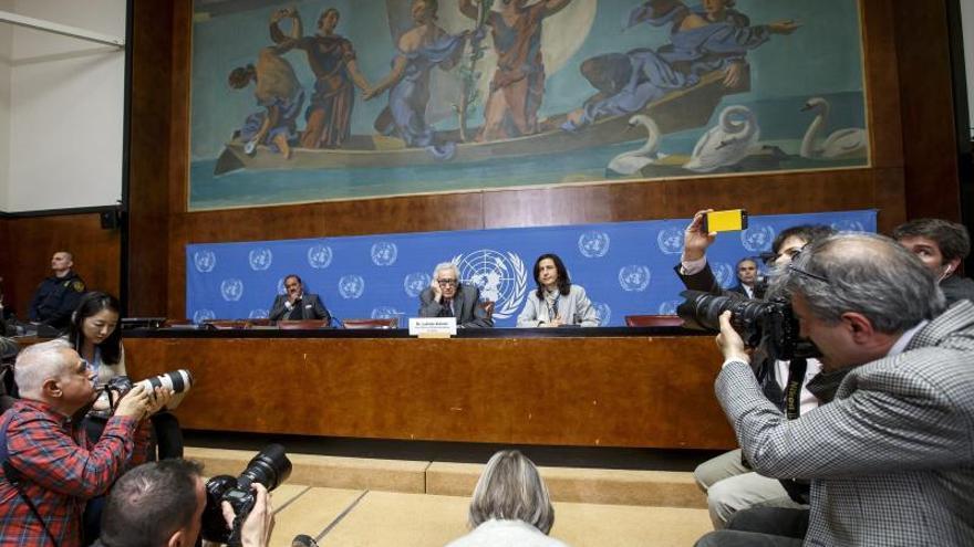 Gobierno y oposición siria dialogan en Ginebra por primera vez a través del mediador