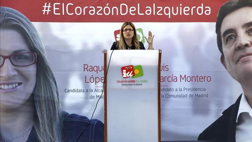 """López dice que pese a la """"dura"""" campaña , IU """"llenará"""" el Ayuntamiento de concejales"""