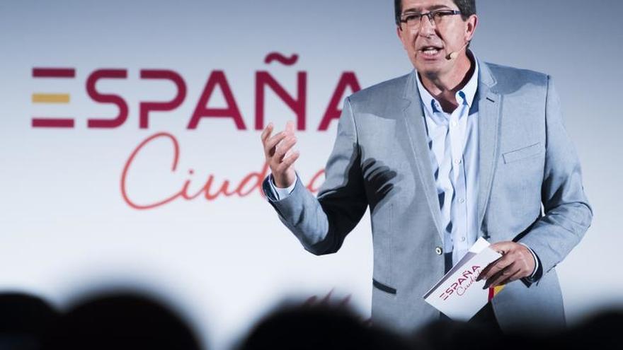 Marín advierte a Moreno que piense si apoyará un gobierno de Cs en Andalucía