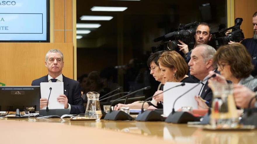 """Urkullu lamenta los """"errores"""" que haya podido cometer su Gobierno en Zaldibar"""