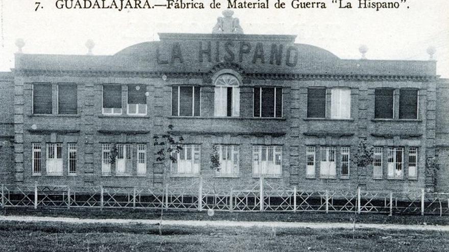 Fachada de la Hispano Suiza