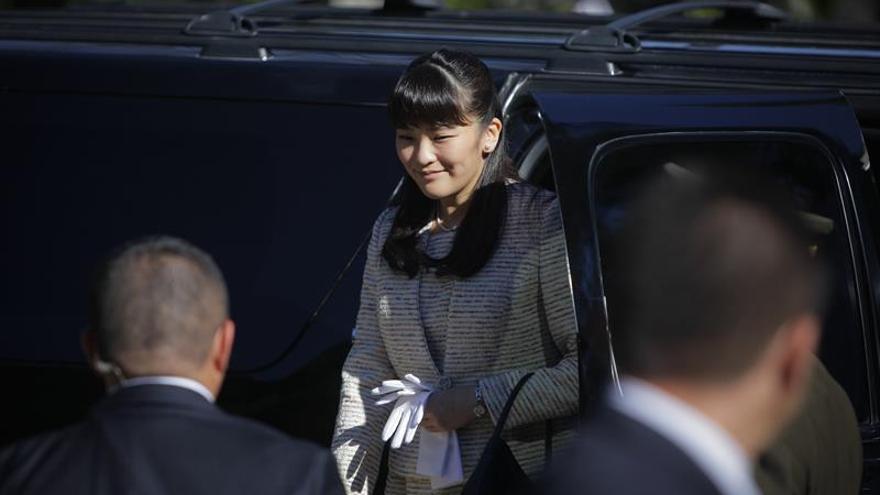 La princesa Mako de Japón parte hacia Paraguay en su segunda visita oficial